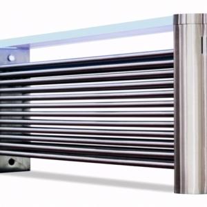 design radiator horizontaal rvs