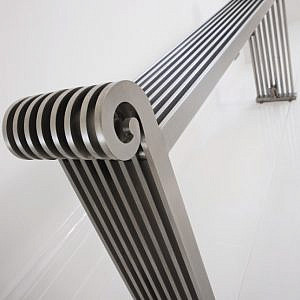 sanata design radiator horizontaal woonkamer