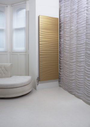 aluminium design radiator woonkamer
