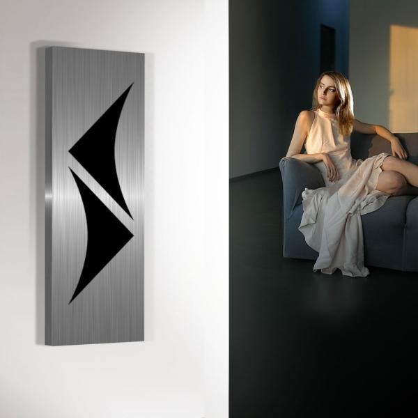 design radiator woonkamer keuken verticaal amon