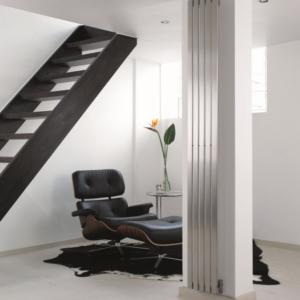 design radiator verticaal woonkamer rvs canti