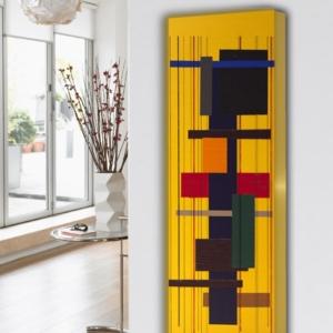 design radiator verticaal woonkamer en keuken