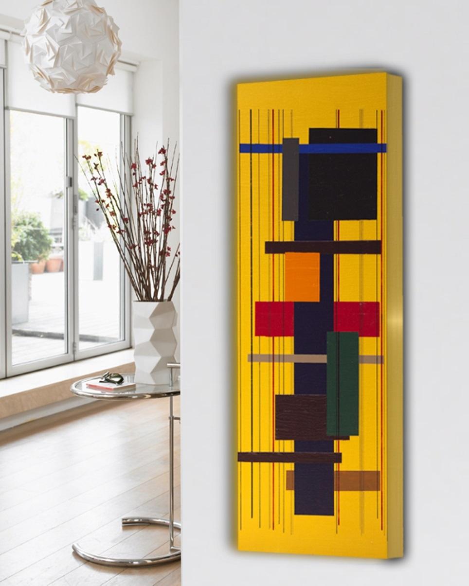 Artistieke Design Radiator Verticaal Met Motieven Voor Woonkamer Keuken