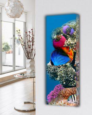 verticale design radiator woonkamer keuken