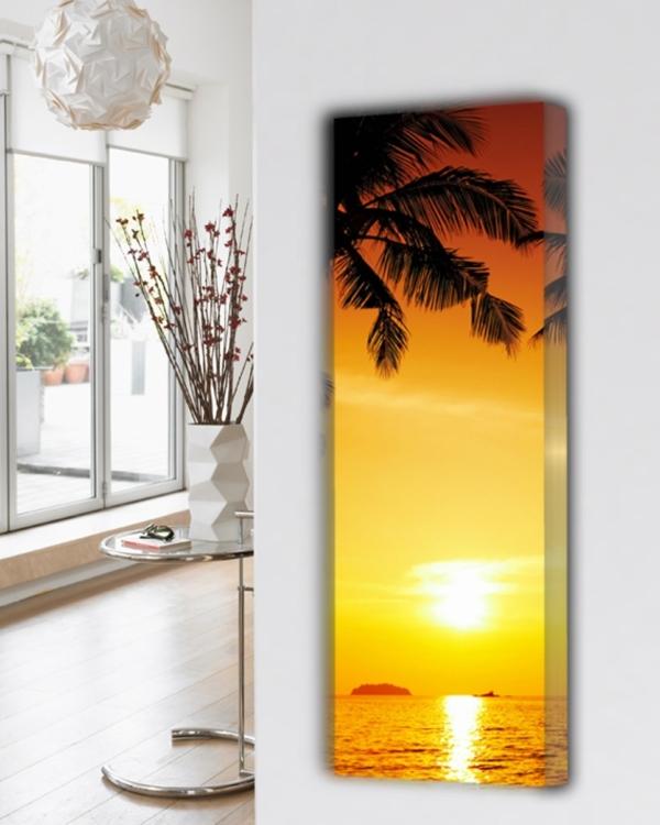 design radiator verticaal natuur bijzonder