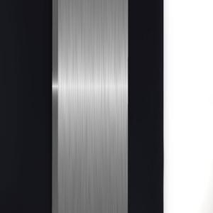 design radiator verticaal woonkamer stilo rvs en aluminium