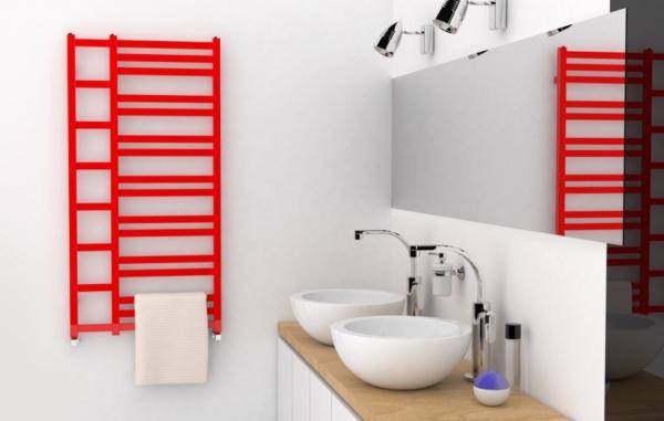 praktische badkamer radiator doblo