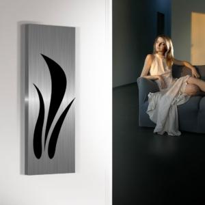 verticale woonkamer radiator flora