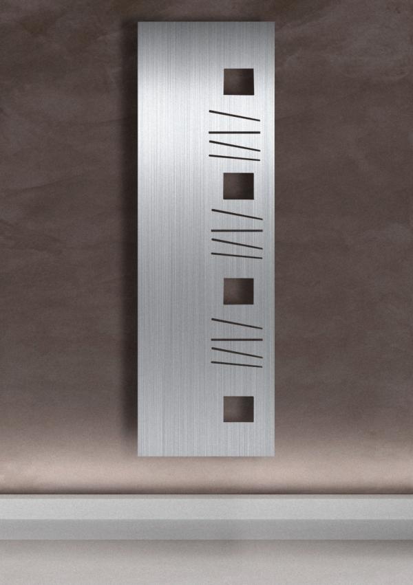 design radiator verticaal woonkamer gino
