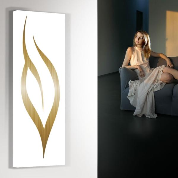 design radiator verticaal woonkamer keuken leaf