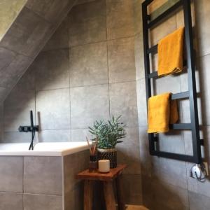elektrische badkamer radiator zwart