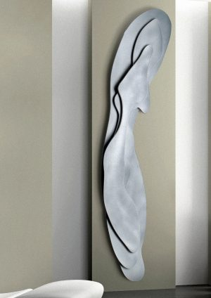 verticale woonkamer design radiator senso