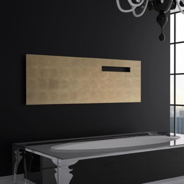 horizontale badkamer radiator