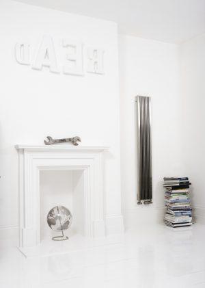 verticale design radiator rvs woonkamer keuken artiz