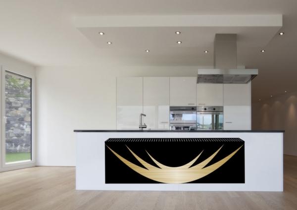 design radiator horizontaal woonkamer