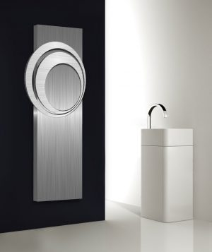 verticale design radiator woonkamer keuken the eye