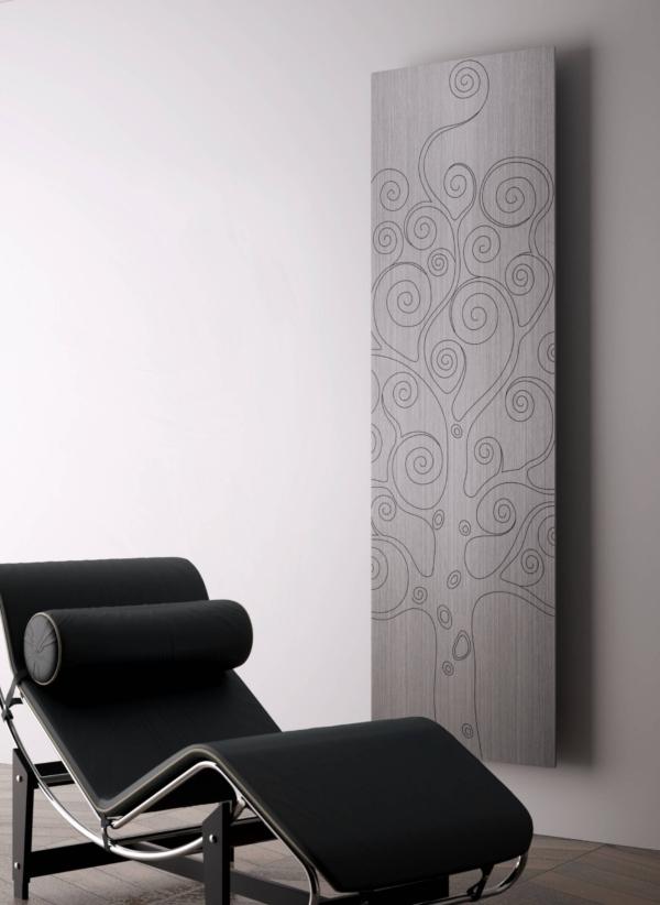 design radiator verticaal woonkamer tree