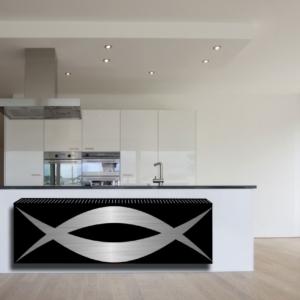 design radiator horizontaal woonkamer zolin