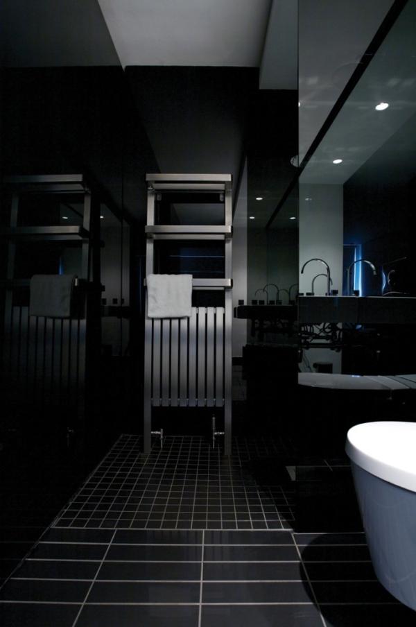 elegante badkamer radiator
