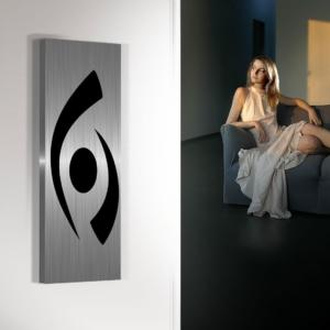 verticale woonkamer radiator