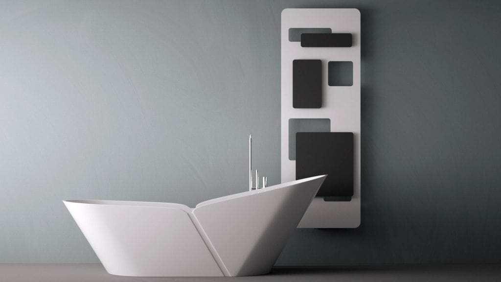 design radiator voor de woonkamer badkamer keuken